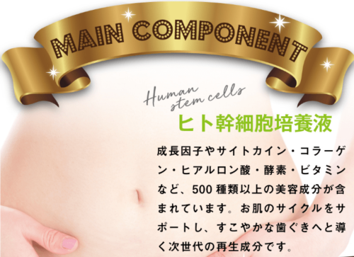 「ヒト幹細胞培養液」使用!