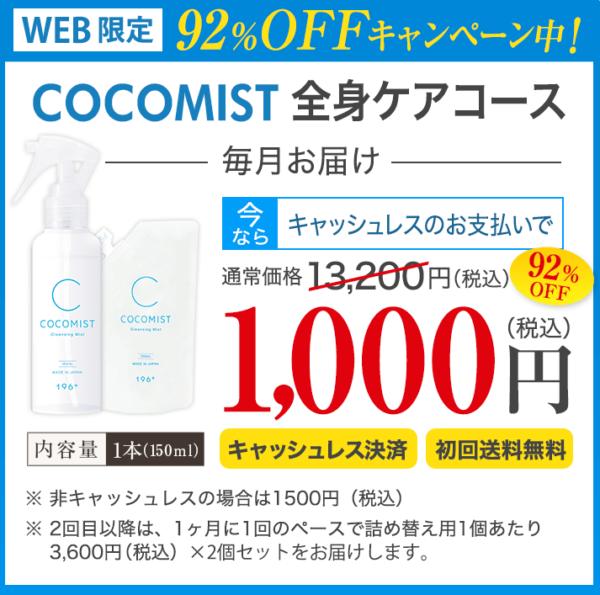 ココミスト(COCOMIST)の定期コースの内容